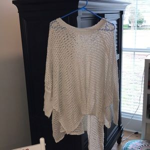 Brand new without tags knitted poncho/shawl